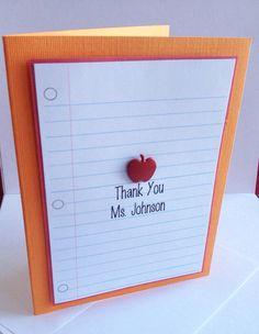 Personalized Teacher Gift, Gifts for Teachers, Teacher Appreciation, Unique Teacher Gift, End of Year Teacher Gift, Teacher Stationery, Thank