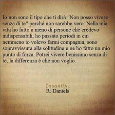 non voglio R. Daniels