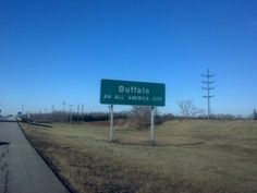 City of Buffalo in New York ~ my favorite sign when we were going back to school...meant we were finally getting close!