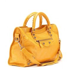 Balenciaga Giant 12 City Leather Tote ($1,895) ❤ liked on Polyvore