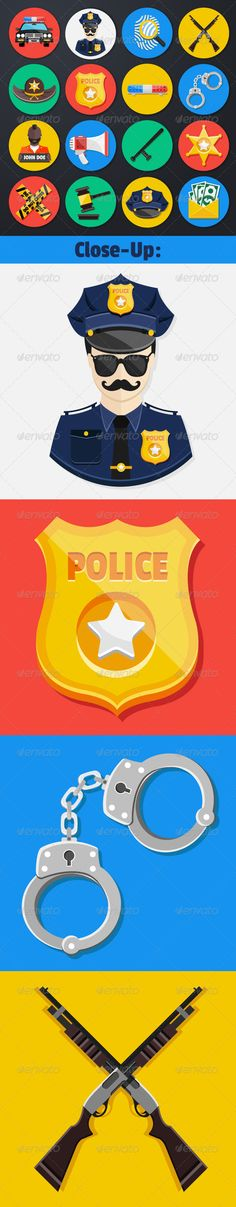 Vector Police Icons Set | Buy and Download: http://graphicriver.net/item/vector-police-icons-set/6252951?WT.ac=category_thumb&WT.z_author=PrettyVectors&ref=ksioks