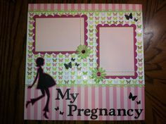 baby shower scrapbook layout ideas | Paper Crafts by Candace: Kimi's Baby Shower Blog Hop