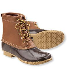 "#LLBean: Men's Bean Boots by L.L.Bean®, 8"" Gore-Tex/Thinsulate"