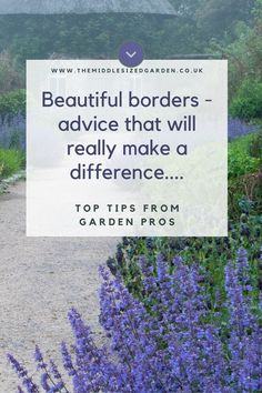 How to choose and place plants in your herbaceous borders. Find the right mix of perennials and annuals, plus more valuable border planting tips. #middlesizedgarden Low Maintenance Garden Design, Herbaceous Border, Garden Borders, Colorful Garden, How To Make Wreaths, Holiday Decorating, Garden Styles, Beautiful Gardens, Planting