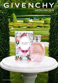 @Givenchy - Givenchy Jardin Precieux Fragrance Campaign 2015