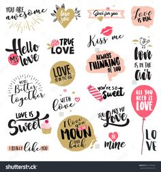Find Valentine Day Signs Elements Collection Flat stock images in HD and millions of other royalty-free stock photos, illustrations and vectors in the Shutterstock collection. Thousands of new, high-quality pictures added every day. Printable Planner Stickers, Printables, Love Stickers, Scrapbook Stickers, Paper Bag Scrapbook, Web Design, Flat Design, Love Messages, Sticker Design