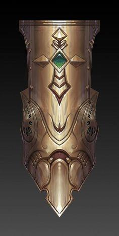 Adamantine Aegis, Tower, Bulwark or Shield Fantasy Armor, Fantasy Weapons, Medieval Fantasy, Dark Fantasy, Armor Concept, Concept Art, Concept Weapons, Knight Rpg, Zbrush
