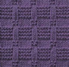 Patterns of right and wrong Stitching / knitting as art!