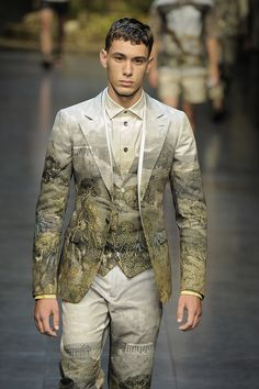Men's Fashion 2014: Top Summer Trends For Guys - Printed blazers (PHOTOS)