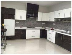 Kitchen Cupboard Designs, Kitchen Room Design, Interior Design Kitchen, Kitchen Ideas, Modular Kitchen Indian, Kitchen Modular, Indian Kitchen, Kitchen Modern, Kitchen Post
