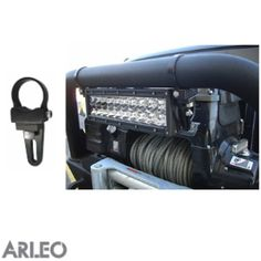 ARLEO LED Light Bar Side Bracket -- Bull Bar Clamp