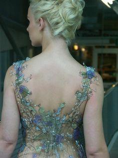 Secret Garden- bead corset! HOW BEAUTIFUL!