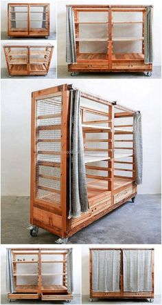 This craft is solving the storage needs in smart and pocket friendly style, this wooden pallet kitchen storage rack on wheels is appealing project. . Let's get started for the project of wooden pallet kitchen storage rack on wheels project.
