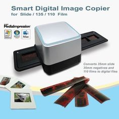 GMYLE® 35mm Negative Film Slide Scanner USB 5.15 Mega CMOS Sensor Digital Image Photo Color Copier for Windows by GMYLE. $34.98. Have you ever thought of renewing your old photographs? However, processing the films in the lab or sending to the shop are too expensive.  Now here comes a film scanner for you to do this job at your home by yourself. It is a convenient way to save your old memories photo more easily and long-lasting. This film scanner can handle B and color...