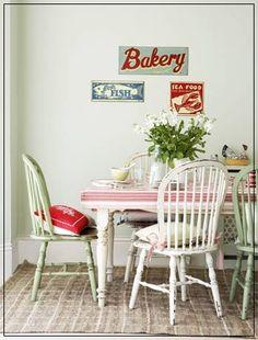 Mesas de cocina antiguas en pinterest mesas de comedor - Mesas cocina vintage ...