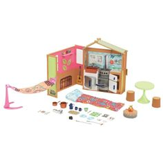 Liv It's My Nature Maple Lodge Playset Barbie sized Doll House Furniture Kitchen #BrandToys #LivMapleLodgeandDollFurnitures