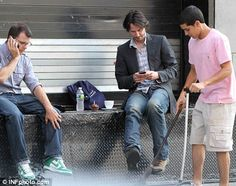 Keanu Reeves On The Set Of John Wick 2 What Are The