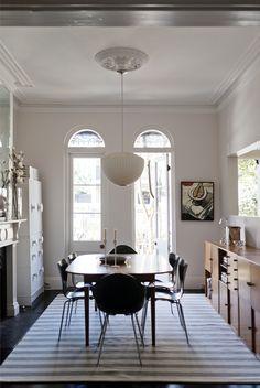 via annacarindesign.com.au | Simon Kenny Photography| George Nelson Apple Pendant Lamp | http://modernica.net/apple-lamp.html