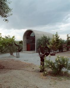 Art Warehouse in Greece • Architects: A31 Architecture • Location: Dilesi, Greece • Project Architect: Praxitelis Kondylis • Area: 75 sqm • Year: 2009 • Photographs: Yiannis Hadjiaslanis • www.archdaily.com/430369/art-warehouse-in-greece-a31-architecture/