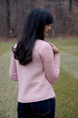 Alexandria Cardigan pattern by Connie Chang Chinchio