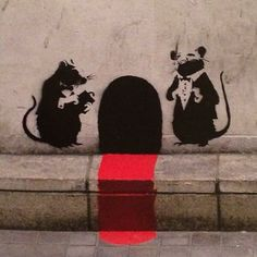 Great collection of Banksy Graffiti Drawings. Great collection of Banksy Graffiti Drawings. 3d Street Art, Street Art Banksy, Amazing Street Art, Banksy Graffiti, Graffiti Artwork, Graffiti Drawing, Bansky, Famous Graffiti Artists, Street Artists