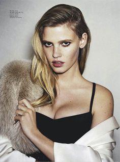 M: Lara Stone, P: Angelo Pennetta, S: Christine Centenera (Vogue Australia March 2013)