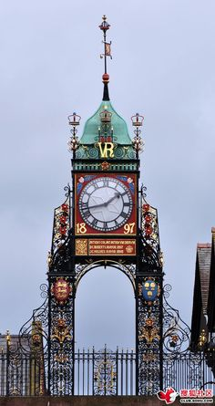 Eastgate Clock Chester, England