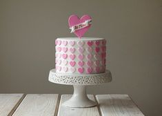 Heart Valentines Cake!!