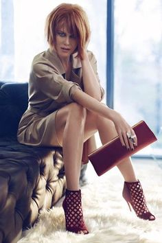 Nicole Kidman for Jimmy Choo Ad Campaign Fall Winter 2013|2014