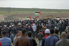 Francotiradores israelíes hirieron a 206 palestinos desarmados - LoQueSomos