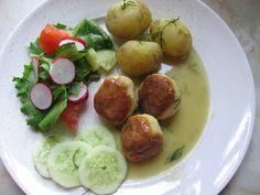 Mummun kalapullat hauesta Koti, Potato Salad, Potatoes, Fish, Ethnic Recipes, Potato, Pisces