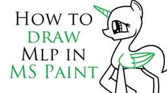 how to draw mlp - YouTube