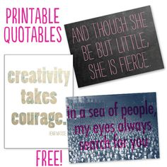 printable-quotables, got to check out this website. super cute & great ideals. www.thetinytwig.com