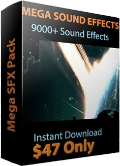 Sound Effects Download, Mega Sound Effects, Sound Effects Pack. http://www.megasoundeffects.com