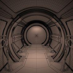 3D MODEL: https://www.turbosquid.com/3d-models/futuristic-corridor-interior-1-3d-model/794443?referral=cermaka