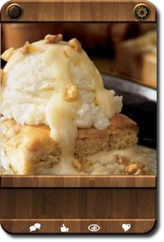 Knock-Off Applebees Blondies--this is THE ONE the knock-off I've been looking for forever!! The only thing I changed was to increase the salt to 3/8tsp