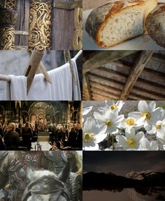 middle earth aesthetics: Edoras 2/2