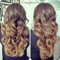 Balayage Ombre Layers - Hairstyles and Beauty Tips Love Hair, Great Hair, Gorgeous Hair, Down Hairstyles, Pretty Hairstyles, Wedding Hairstyles, Corte Y Color, Hair Dos, Ombre Hair