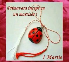 Martisor, an old Romanian tradition, is celebrated at the beginning of Spring, on March Roman Calendar, Baba Marta, Feminine Symbols, Arise And Shine, Mythological Characters, 8 Martie, Beginning Of Spring, Central And Eastern Europe, Brand Me
