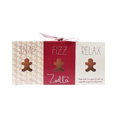 Zoella Beauty Ginger Bread Fizz Trio . oz ($12) ❤ liked on Polyvore featuring beauty products and bath & body products