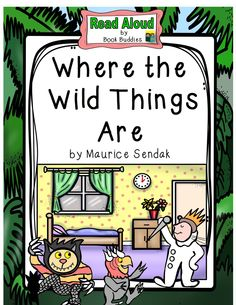 Easy prep read aloud book study of Where the Wild Things Are by Maurice Sendak… Reading Comprehension Skills, Reading Skills, Guided Reading, Reading Activities, Literacy Activities, Interactive Read Aloud, Prep Book, Story Retell, Maurice Sendak
