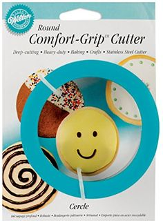 Wilton Comfort Grip Round Cookie Cutter * Click image to review more details. (This is an affiliate link) #CookieCutters