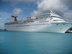 Carnival cruise ship The Fascination