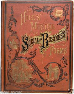 Victorian Typography Letters Etiquette Caligraphy Penmanship Art Hand Writing US | eBay