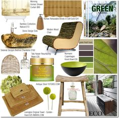 """""""Eco Bathroom"""" by elena-starling on Polyvore"""