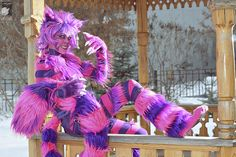 Best costume evar!  Cheshire Cat from Alice in Wonderland