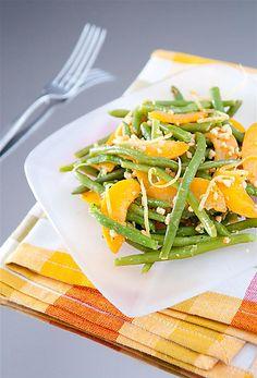 Apricots & beans summer salad