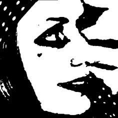 Monochrome Twiggy gif by Sketchaganda
