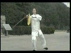 YANG TAI CHI SABRE FORM - YouTube