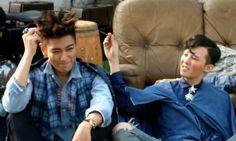 GD and TOP // BIGBANG // VOGUE